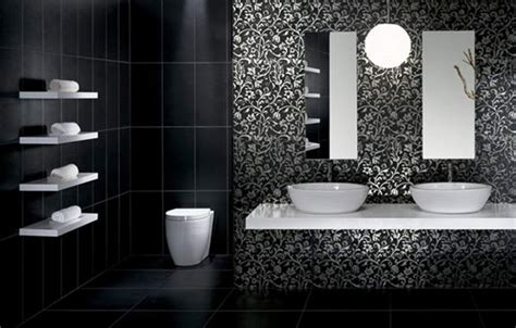 modern black and white bathroom tile designs bathroom designs black and white tiles 26 magical bathroom