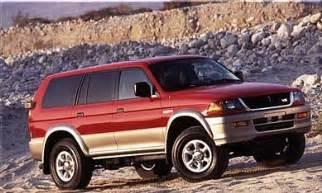 1997 Mitsubishi Montero Reviews Mitsubishi Montero Ls 1997
