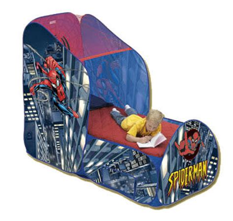 spiderman bed tent spiderman bedroom furniturespiderman bed topper playhut