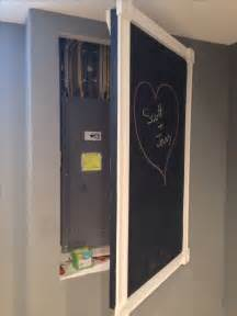 1000 images about electrical panel box cover up on