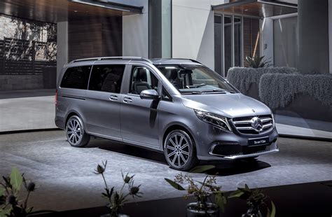 Mercedes Vito 2019 by 2019 Mercedes V Class Hints At Updates For Metris