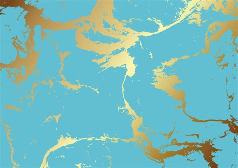 teal  gold marble texture   vectors