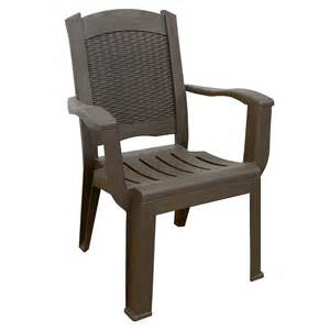 mfg corp brentwood stackable wicker back patio