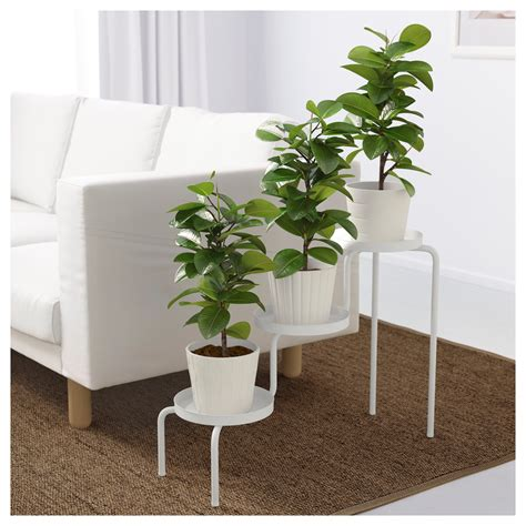 ikea outdoor ikea ps 2014 plant stand in outdoor white 53 cm ikea