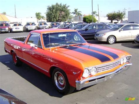 el camino orange buyers had their choice of 22 different paint options 15