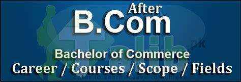 Courses After Bcom Other Than Mba by Career Courses After B In Pakistan