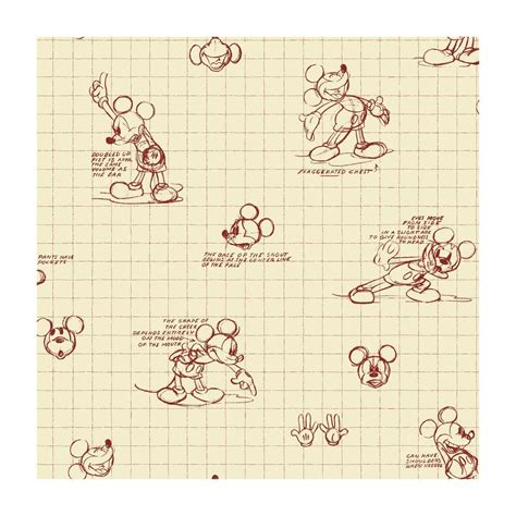 disney wallpaper home depot disney mickey mouse sketches wallpaper dk6084 the home depot