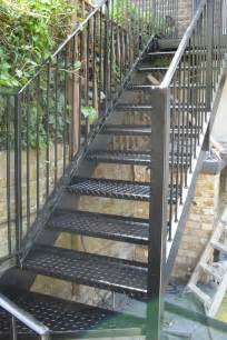 outside stairs london steel staircase arc fabrications