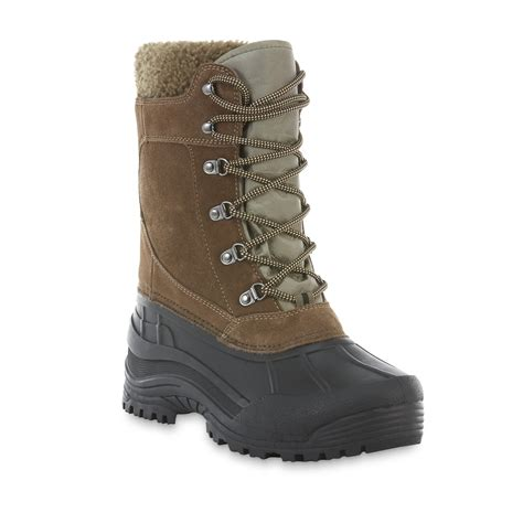 pack boots elk woods s pack waterproof snow boot black brown