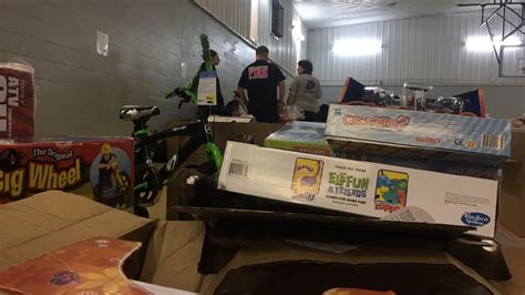 darlington fire department helped 33 families this