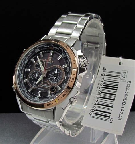 Casio Edifice Eqs 500db 1a2 casio edifice eqs 500db 1a2 eqs photos and specifications eqs500db 1a2 archive