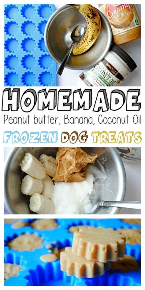 how to cook frozen dogs frozen banana peanut butter coconut treats