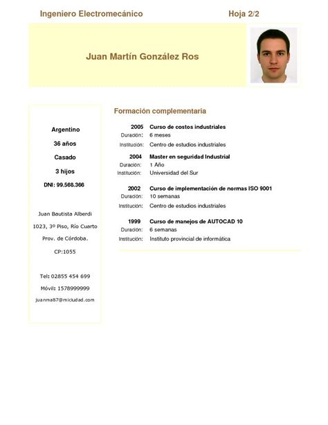 Modelo De Curriculum Vitae Para Nueva Zelanda 301 Moved Permanently
