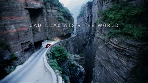 film china haunted road cadillac ats challenges the world in new film series