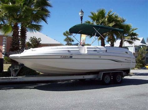 deck boat height on trailer chaparral sunesta 232 2000 for sale for 1 000 boats