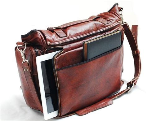 hand crafted handmade leather messenger bag handmade 22