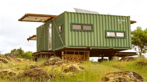 a canadian man built this off grid shipping container home man builds stunning off grid shipping container home on