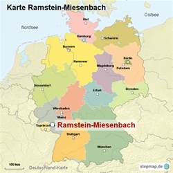 Ramstein Germany Map by Google Images