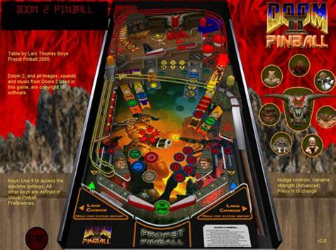 doom2 v 2 1 for visual pinball by lars boye larsboy