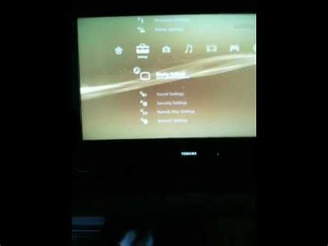 reset ps3 video to hdmi how to change ps3 video settings blind youtube