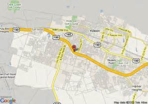 map of 8 motel killeen killeen
