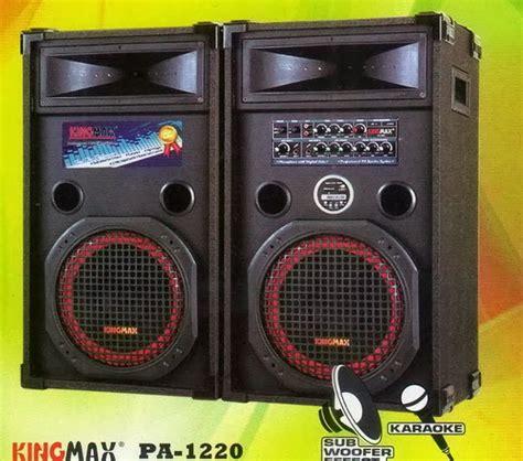 Speaker Aktif Untuk Vcd cecen it electronics kingmax pa 1220