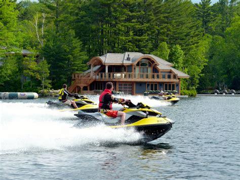 boat tour huntsville muskoka sea doo tour ontario ride planner intrepid cottager