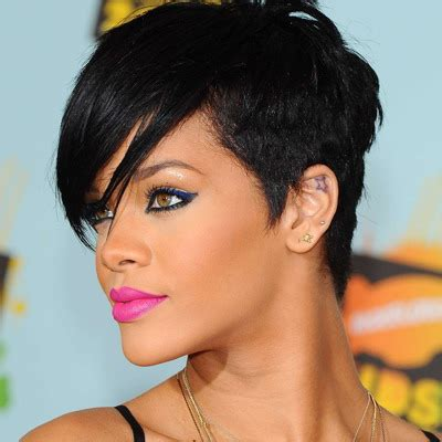 short weave hairstyles for rihanna and haille berry it s fashion bitch my daily life my little knowledge