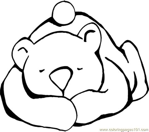 coloring page for bear snores on book winter pinterest