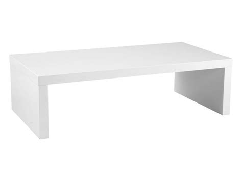 White Low Coffee Table National Event Hire