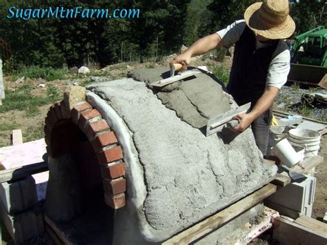 concrete dog house dog house bottles roof sugar mountain farm