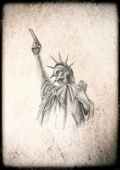 statue of liberty tattoo designs statue of liberty b by nimrod on deviantart