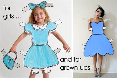 Paper Doll Costume To Make - posts lovera loft