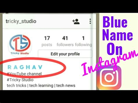 bio instagram bold make your instagram name blue bold without root