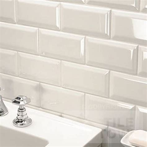 White Wall Tiles For Bathroom by Metro Bone Bathroom Wall Tile This White Ivory