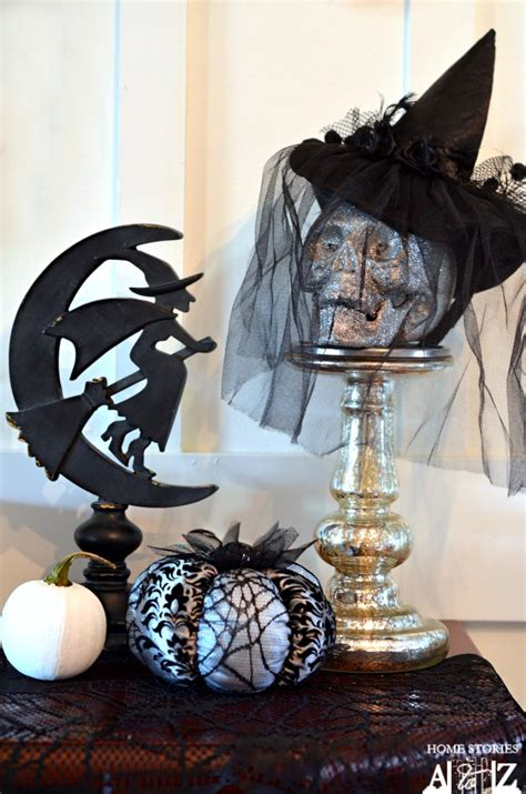 Decorating Witch Hat Ideas by Witch Mantel Tutorial Home Stories A To Z