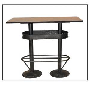 Bar Bistro Table Industrial High Table Standing Cheap Eats Solid Bistro For Bars Bistro On Mathi Design