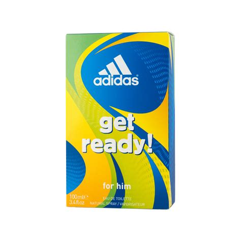 Adidas Get Ready For Him Edt 100ml adidas get ready for him eau de toilette edt f 252 r m 228 nner