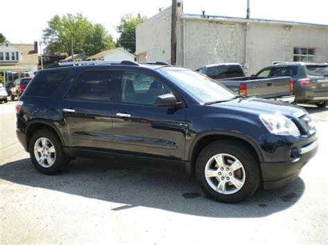 2012 gmc acadia sle awd 4dr suv in barnesville oh starrs