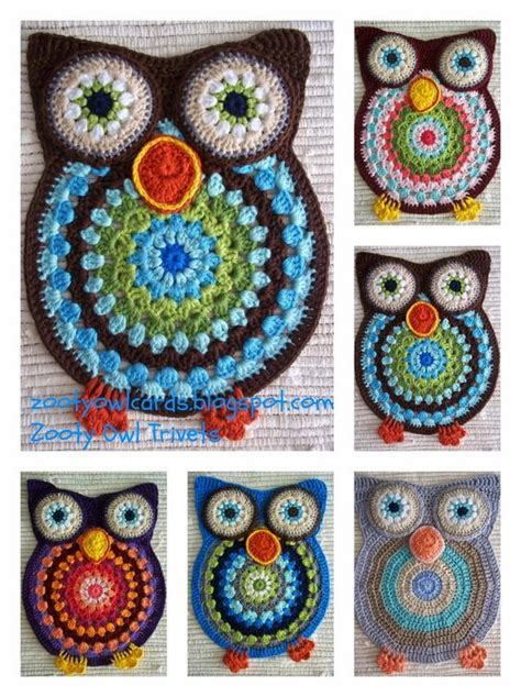crochet owl rug pattern free owl crochet doily rugs are so adorable bags patterns and crochet