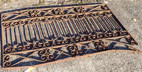 marwitz antik zaunfeld gel 228 nder jugendstil historische bauelemente
