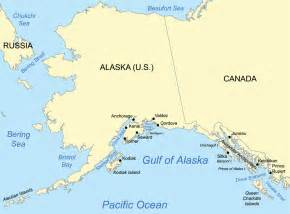 gulf of map the gulf of alaska where two oceans meet but do not mix