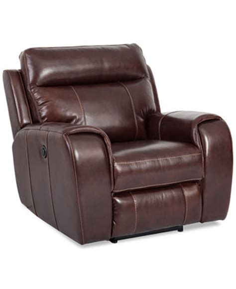 macys furniture recliners braddy leather power recliner furniture macy s