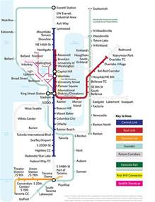 Seattle Metro Map by Seattle More Maps As Art Subway Maps Pinterest