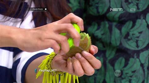 Kipas Angin Es Batu alat pengupas buah kiwi inovasi masa kini