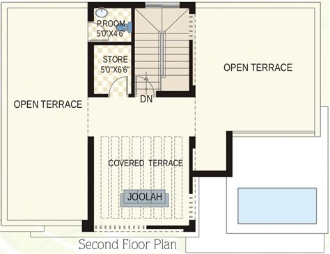 castle green floor plan 3030 sq ft 3 bhk 5t villa for sale in my place mypi green