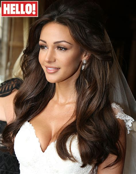 wedding hair cutting games michelle keegan s wedding hair how to get the look