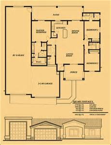 Rv Garage Floor Plans by Sunset Homes Of Arizona Experienced Builder