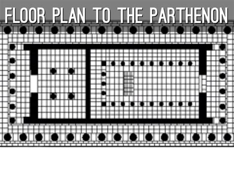 floor plan of the parthenon the gallery for gt the parthenon floor plan