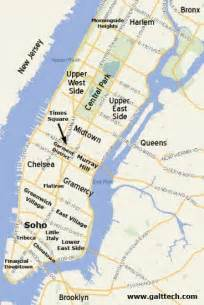 Map Of New York City Suburbs by New York City Map New York Neighborhood Map